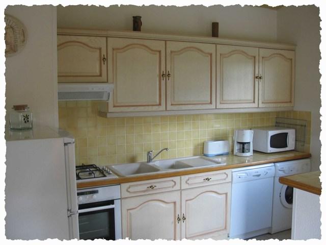 Presentatie van de bungalows - Keuken uitgerust m ...